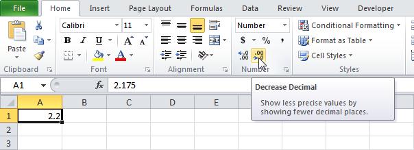 Десятичные знаки в Excel - Microsoft Excel для начинающих