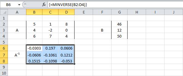 метод простых итераций в ecxel как решать