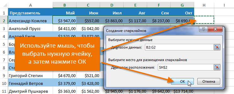 MS Excel / Диаграммы и графика :: office-guru.ru