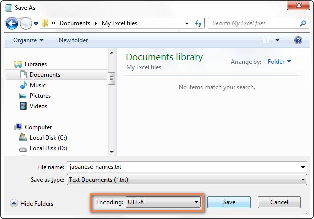 Кодировка Utf 8 В Excel
