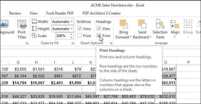 Как в excel сделать разметку для печати