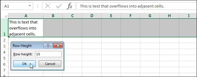 Как сделать текст видимым в экселе