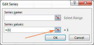Диаграмма в Excel по нескольким листам