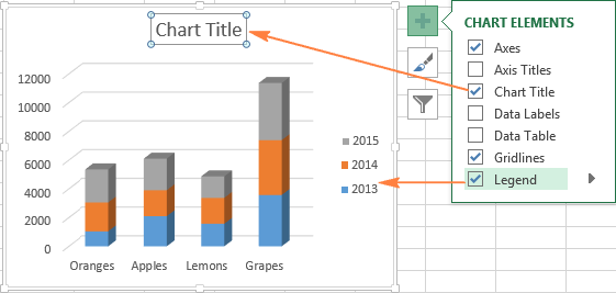 how to add two graphs together in excel