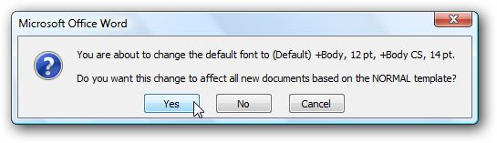 Изменяем размер шрифта в Word