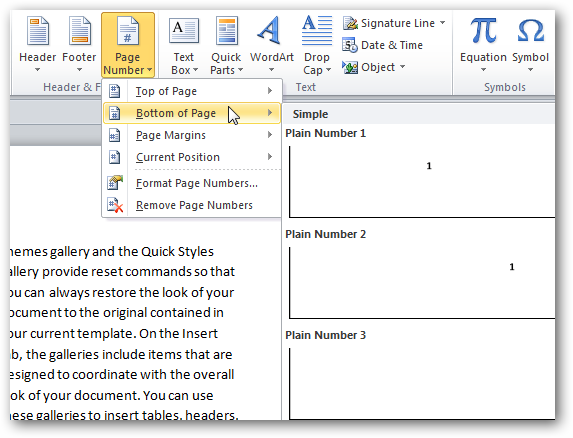 Microsoft word booklet template