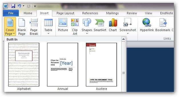 Титульный лист для microsoft office word 2007