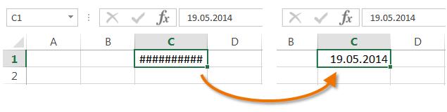 Обзор ошибок, возникающих в формулах Excel