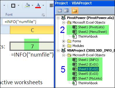 30 функций Excel за 30 дней: ИНФОРМ (INFO)