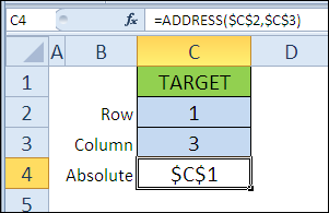 30 функций Excel за 30 дней: АДРЕС (ADDRESS)