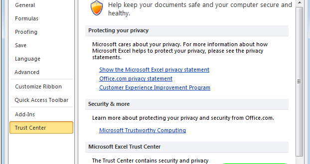 """Что делать, если """"Файл поврежден и не может быть открыт"""" в Excel 2010"""