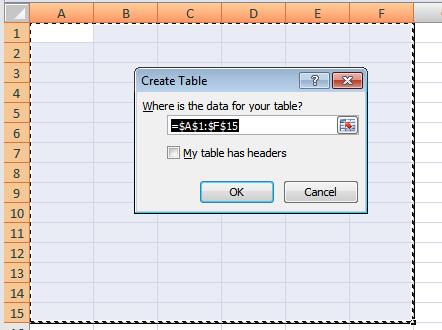 Создание и использование таблиц в Microsoft Excel