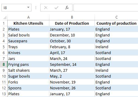 Удаление дубликатов в Excel, используя родной инструмент