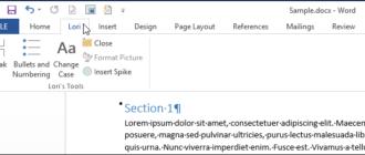Как восстановить настройки ленты по умолчанию в Microsoft Office 2013
