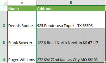 Как удалить переносы строк (возвраты каретки) из ячеек в Excel 2013, 2010 и 2007