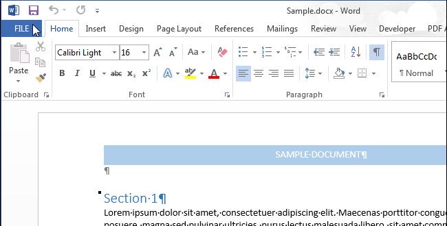 Как в Word отправить на печать свойства документа