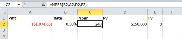 Финансовые функции в Excel