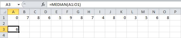 Статистические функции в Excel