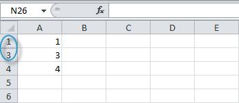 Копируем видимые ячейки в Excel