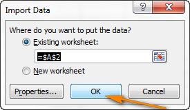 Экспортируем файл CSV в Excel