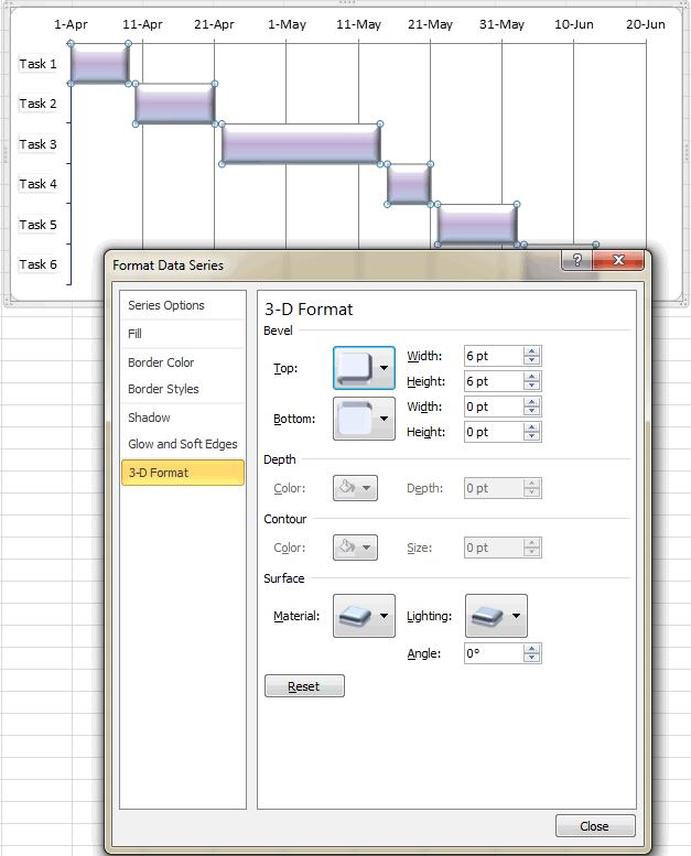 Как создать диаграмму Ганта в Excel