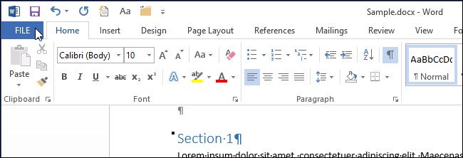 Убираем подчеркивание ошибок в Microsoft Word