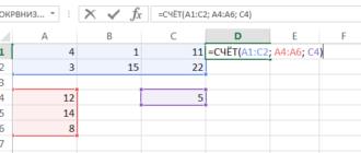 Подсчет ячеек в Excel, используя функции СЧЕТ и СЧЕТЕСЛИ