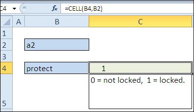 30 функций Excel за 30 дней: ЯЧЕЙКА (CELL)