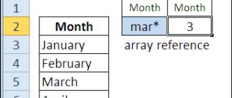 30 функций Excel за 30 дней: ПОИСКПОЗ (MATCH)