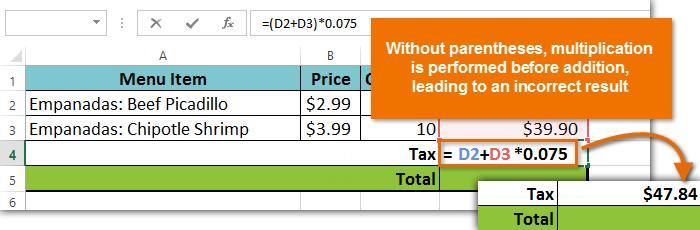 Проверяйте созданные в Excel формулы дважды