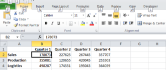 Подсказки клавиш в Excel