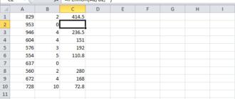 Функция ЕСЛИОШИБКА в Excel