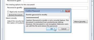 Как в Word создать документ, предназначенный только для чтения, и который можно открыть без пароля