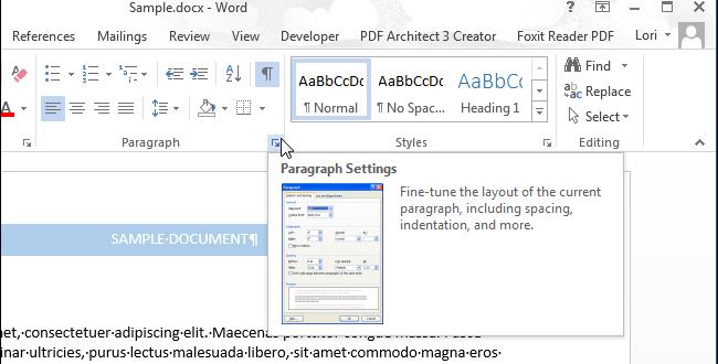 Как в Word настроить форматирование абзаца