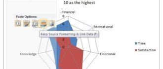 Как в Excel сохранить диаграмму как картинку