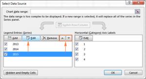 Как сделать диаграммы в Excel из данных на двух или более листах