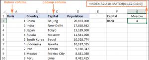 Чем ИНДЕКС и ПОИСКПОЗ лучше ВПР в Excel