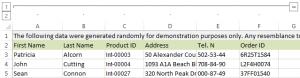 Как прятать и группировать столбцы в Excel