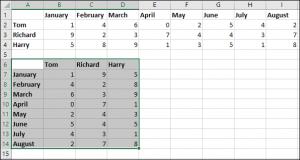 Как легко конвертировать строку в колонку в Excel