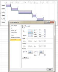 Как создать график Ганта в Excel