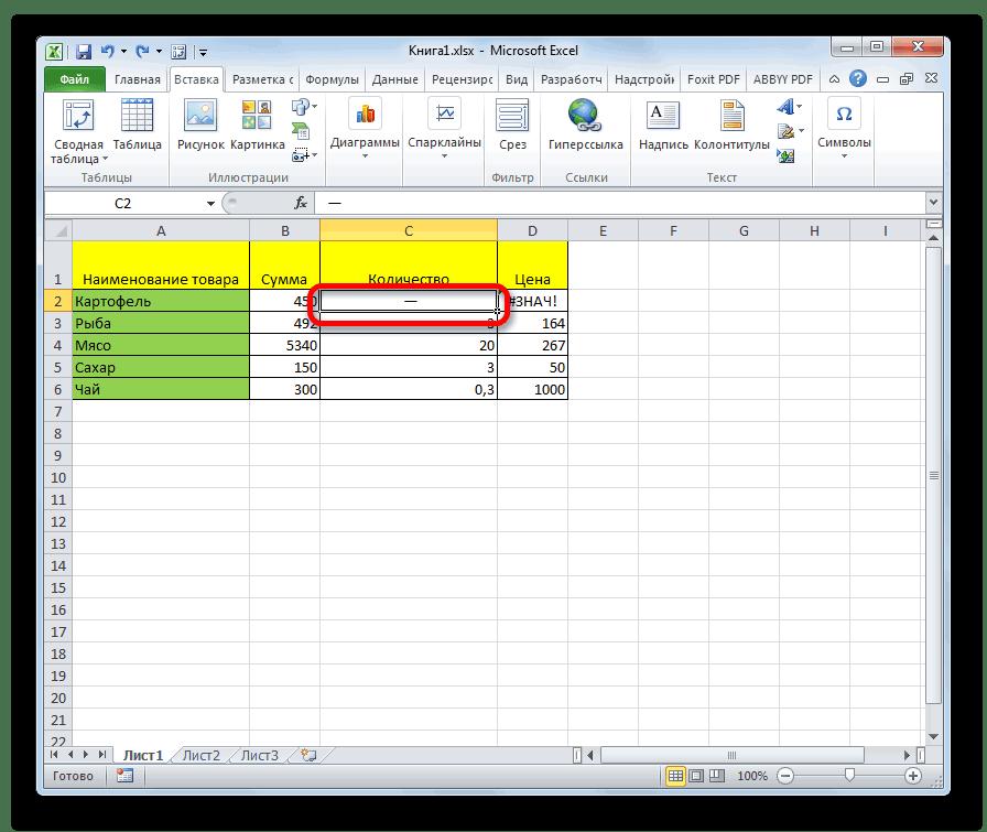 Как поставить знак плюса в ячейке таблицы Excel без формулы