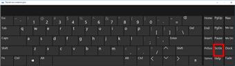 Как в Excel отключить scroll lock (Windows 10, Windows 8.1, Windows 7)