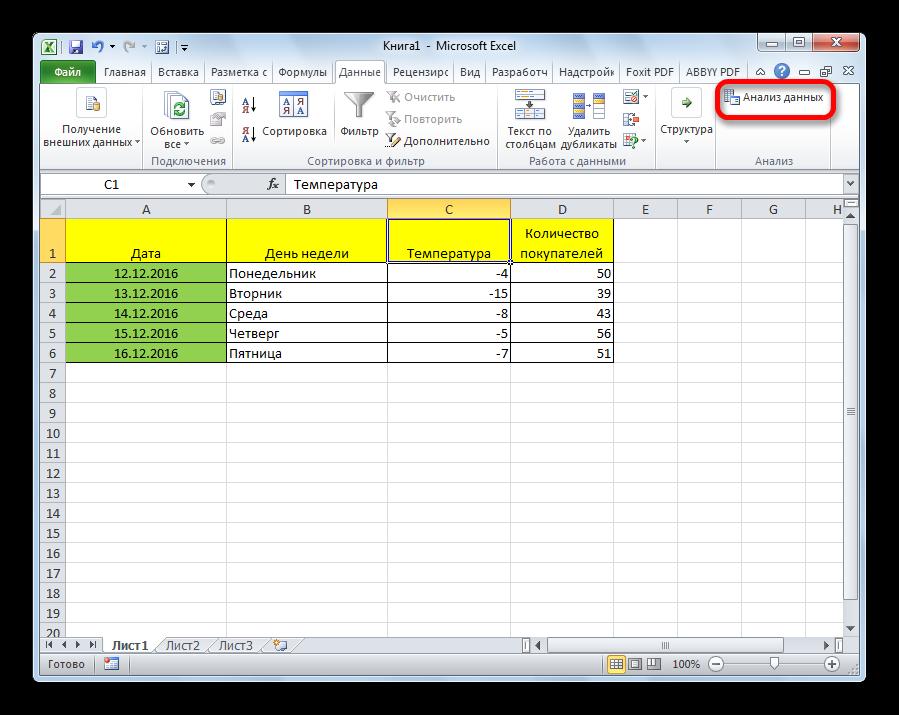 Регрессионный анализ в Excel. Подробная иллюстрированная инструкция