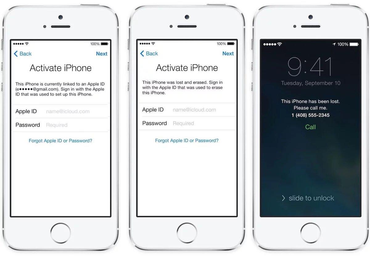 Блокировка iPad, iPhone и iPod Touch
