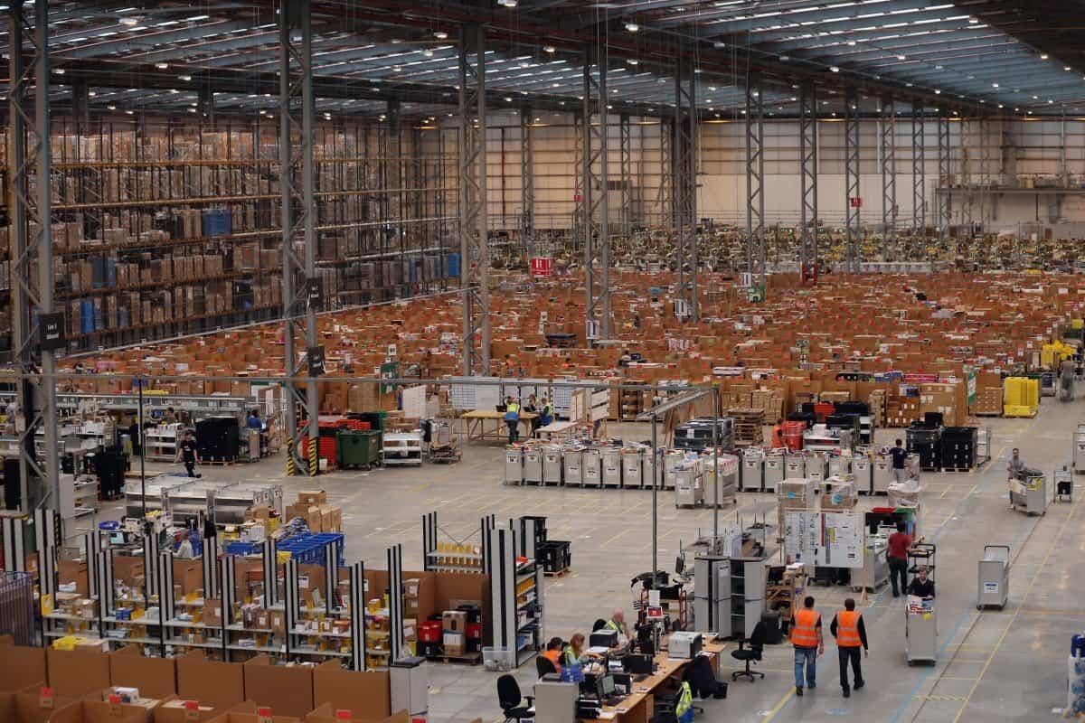 работа в Amazon