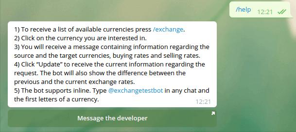 Телеграм-бот на Python. Полный гид по написанию с нуля бота с курсом валют