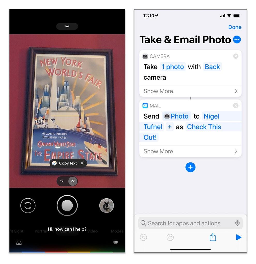 Google Assistant позволяет делать снимки при помощи голосовых команд