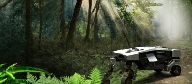 Hyundai представила ходячего робота с колёсами
