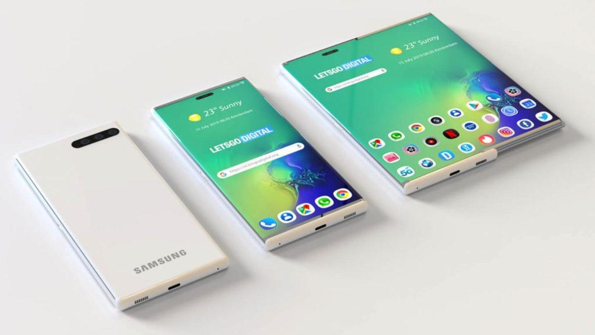 раздвижной экран Samsung