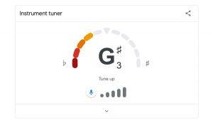 Новая функция Google Search поможет настроить гитару